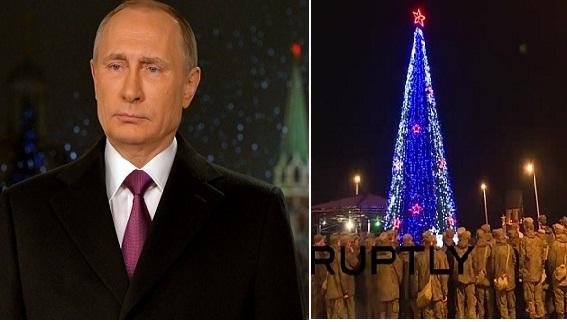 Thông điệp qua lời chúc Tết Putin gửi chiến sĩ ở Syria