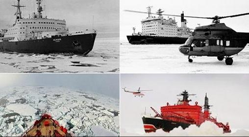 Tàu phá băng hạt nhân vào cuộc chiến giành Bắc Cực