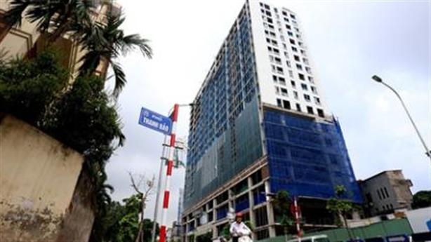 Tòa nhà 8B Lê Trực:Chủ đầu tư kiên gan