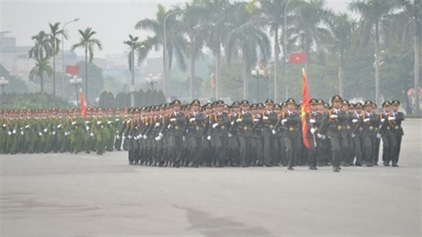Bảo vệ tuyệt đối an ninh, an toàn Đại hội Đảng