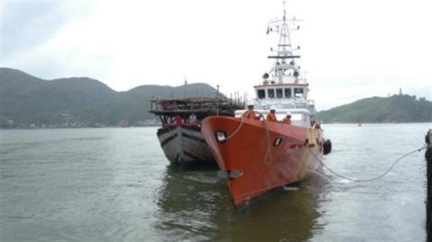 Tàu cá Bình Định bị đâm chìm ở Hoàng Sa