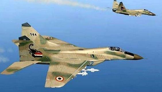 MiG-29 Syria và Su-25 Nga 'song kiếm hợp bích', không kích IS