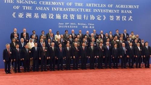 Quyền lực trong ngân hàng AIIB được phân chia thế nào?