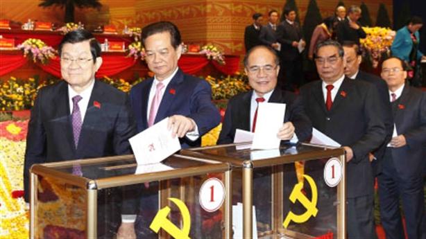 Kết thúc bỏ phiếu bầu Ban chấp hành Trung ương khóa 12