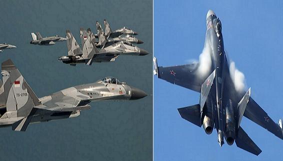 Cập nhật Su-35 xuất hiện quanh Biển Đông