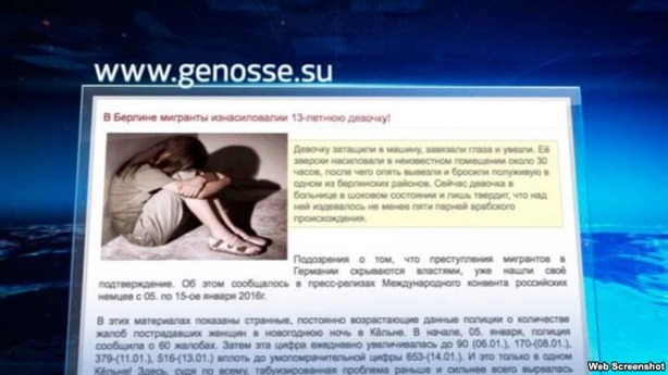 Bé gái Nga bị hiếp tập thể ngay tại thủ đô Berlin