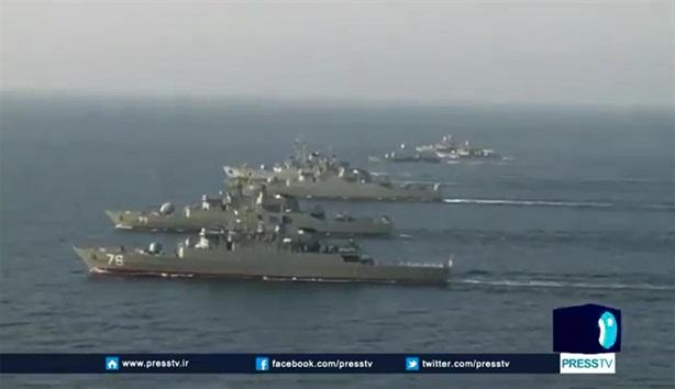 Hải quân Iran khiến phương Tây bất ngờ