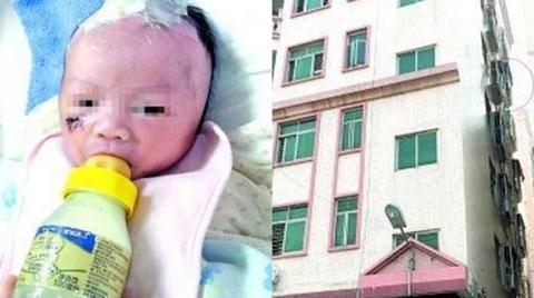 Cô dâu Việt ném con trai 4 tháng tuổi từ tầng 3