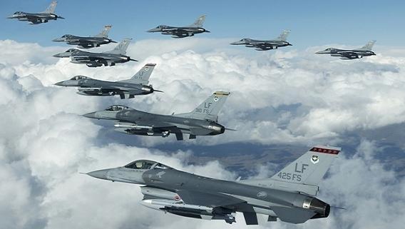 F-16 suýt vào tay IS, đội bay tiếp dầu Mỹ giải cứu