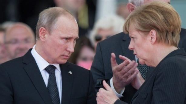 Thủ tướng Đức mong gỡ ngay lệnh cấm vận với Nga