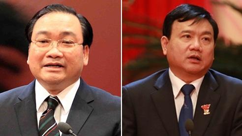 Ông Đinh La Thăng,Hoàng Trung Hải vẫn là thành viên Chính phủ