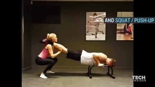 Cùng 'gấu' tập gym cho thân hình khỏe đẹp