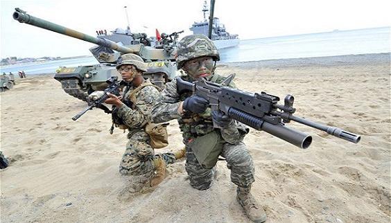 Mỹ-Hàn tập trận, thao luyện phương án diệt đầu não Triều Tiên?