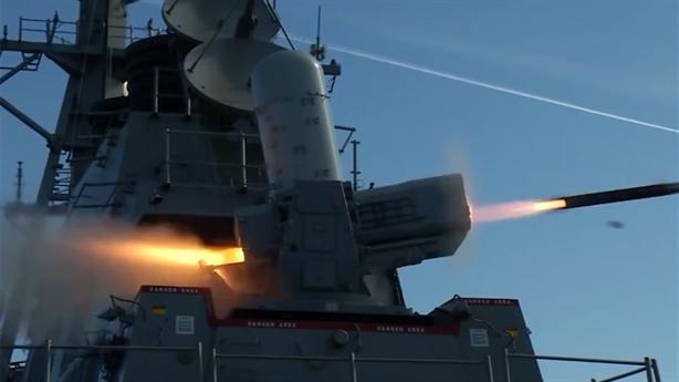 Mỹ thử thành công hệ thống SeaRAM cho chiến hạm