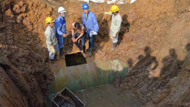 Đường ống nước sông Đà số 2: Nhà thầu Trung Quốc thắng