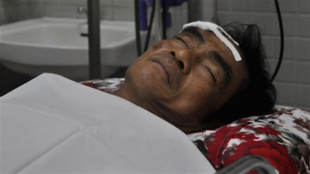 Ông Huỳnh Văn Nén bị tai nạn, đang mất trí nhớ