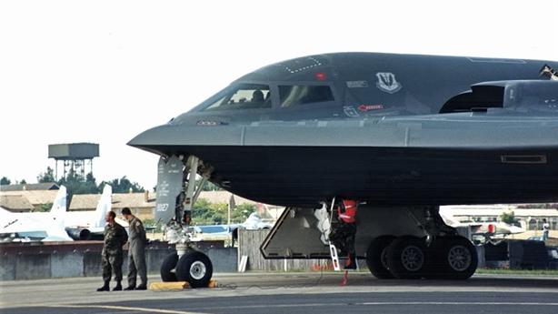 Bí mật về chiếc B-2 Spirit thành đống sắt vụn