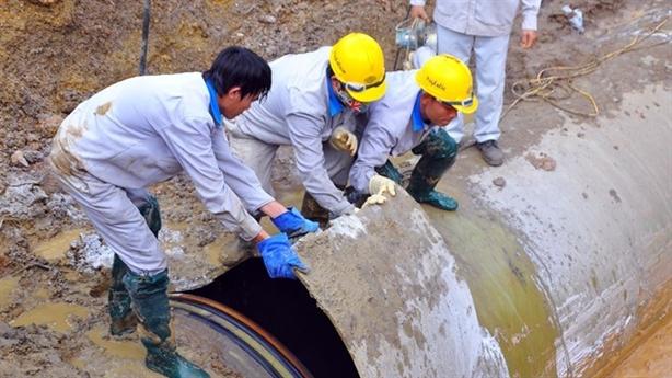 Nhà thầu Trung Quốc làm đường ống sông Đà: Chỉ đạo nóng