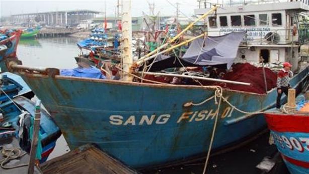 Ngư dân trả lại tàu vỏ thép: Tàu của Vinashin