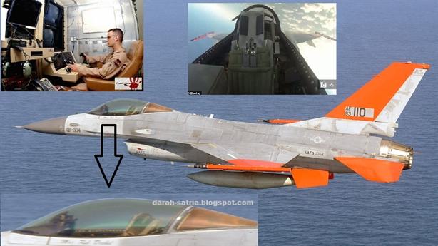 Viễn cảnh kinh hoàng khi QF-16 thành chiến đấu cơ