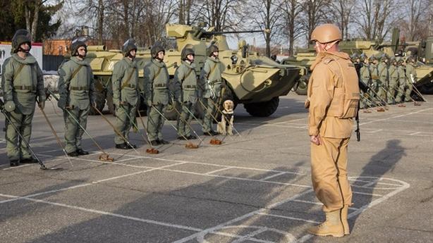 Lính công binh Nga được trang bị gì khi đến Syria?
