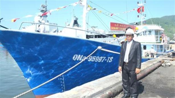 Ngư dân trả lại tàu vỏ thép: Chuyện bình thường