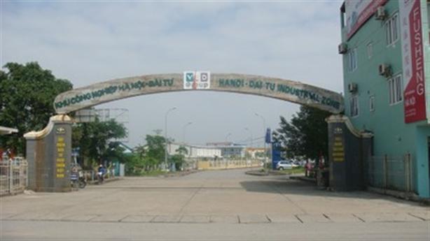 Khu công nghiệp Hà Nội-Đài Tư được chuyển thành khu đô thị