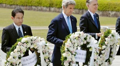 Nhật Bản nhắc tội ác, Mỹ buông lời lạnh lùng
