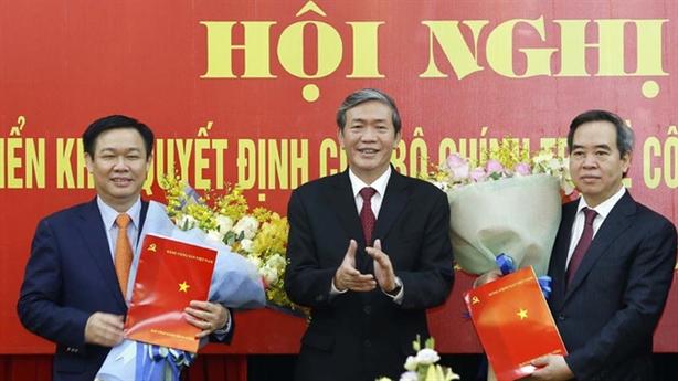 Ông Nguyễn Văn Bình làm Trưởng