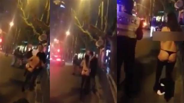 Cảnh sát bắt thiếu nữ đòi quan hệ với khách giữa đường