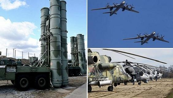 Không quân-Vũ trụ Nga được trang bị vũ khí khủng