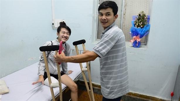 Nữ sinh mất chân: Khi Sở Y tế làm thật
