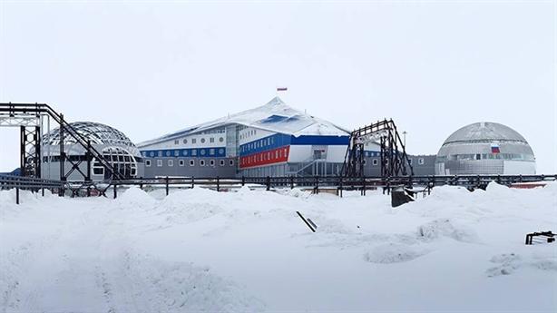 Trong căn cứ quân sự mới nhất của Nga ở Bắc Cực