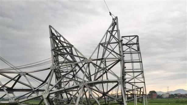 Cột điện cao thế 500kV bị đổ:Chuyên gia chỉ rõ sai phạm...