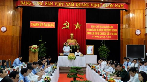 Chủ tịch nước ủng hộ Đà Nẵng có chính sách đặc thù