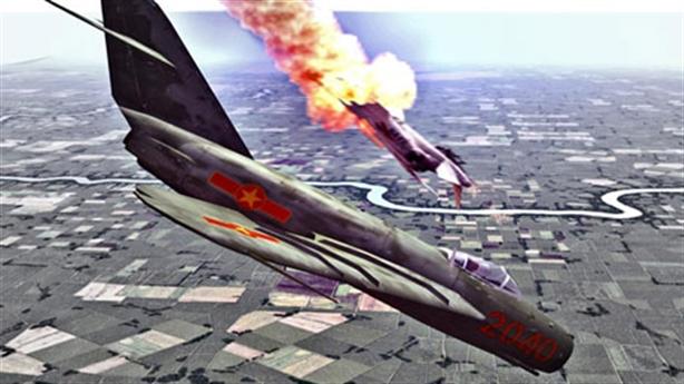 Cuộc đối đầu giữa MiG-17 và F-4 trên bầu trời Việt Nam
