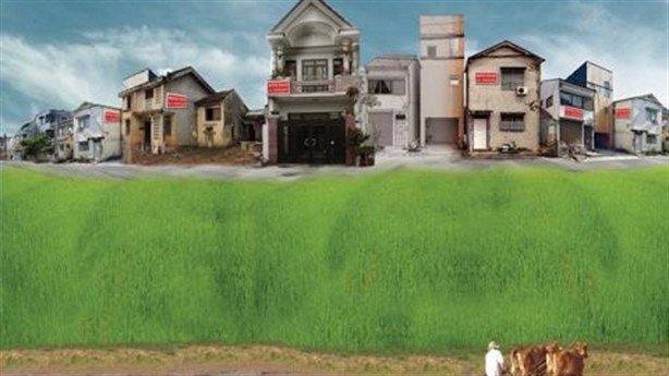Mua nhà trên đất vườn: Chấp nhận