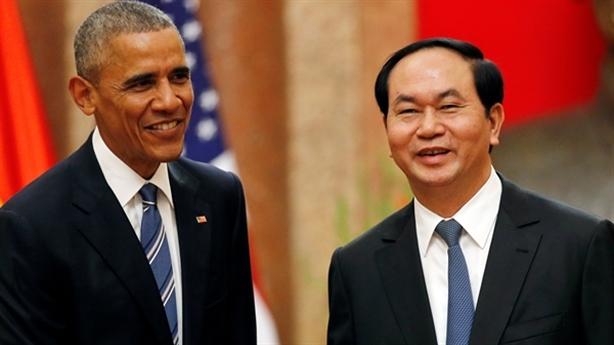 Mỹ dỡ bỏ lệnh cấm vận vũ khí đối với Việt Nam