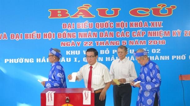 Đà Nẵng: Những ai trúng cử với số phiếu cao?