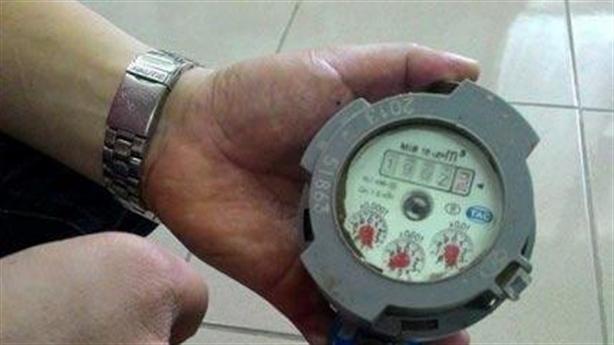 Đồng hồ nước sản xuất 2013, kiểm định 2012: Lỗi đánh máy