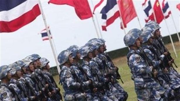 Trung Quốc tập trận với Thái Lan khi Mỹ lơ là