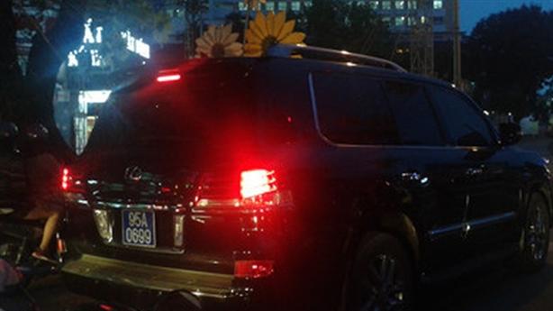 Xe Lexus phục vụ Phó Chủ tịch tỉnh: Điểm tích cực là...