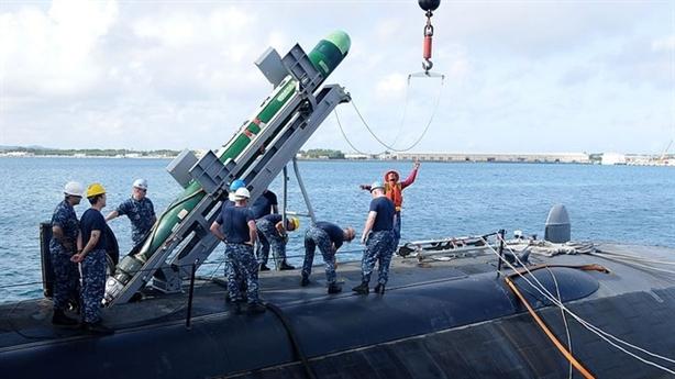 Mỹ trang bị ngư lôi Mk-48 phiên bản mới vì Trung Quốc