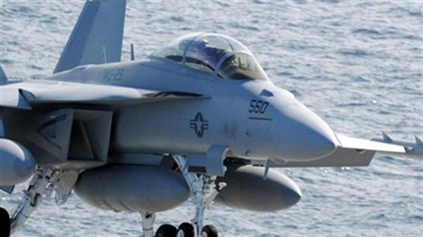Phi cơ Mỹ hỏng khi tác chiến điện tử ở biển Đông