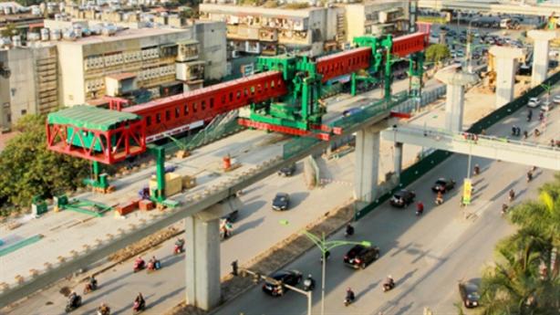 Đường sắt đô thị ra Nội Bài:Vẫn lợi thế thầu Trung Quốc?
