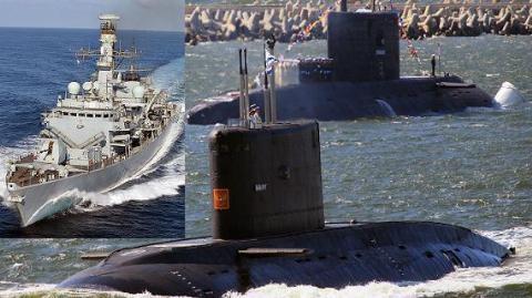 Nga cười nhạo khả năng săn tàu ngầm…nổi của Anh và NATO