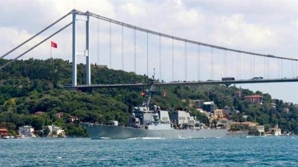 Chiến hạm Mỹ có phạm luật khi vào Biển Đen?
