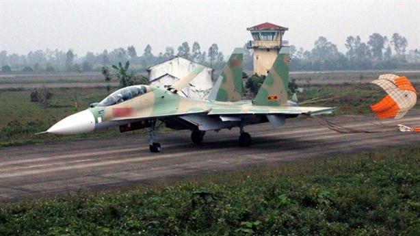 Su-30 gặp nạn khi bay huấn luyện trên biển Đông