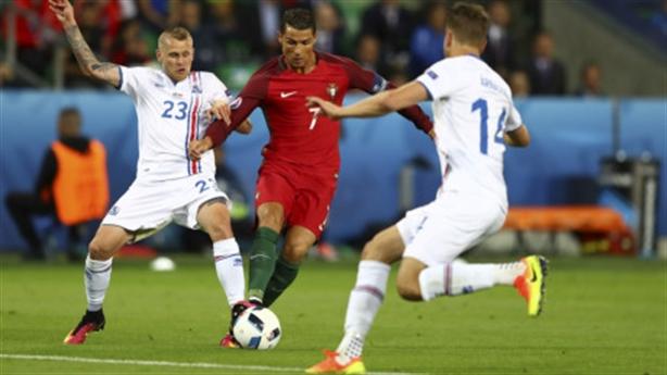 Video bàn thắng: Bồ Đào Nha 1-1 Iceland
