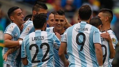 Video bàn thắng: Argentina 3-0 Bolivia